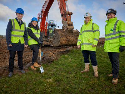 Hurst Green, new homes, start on site