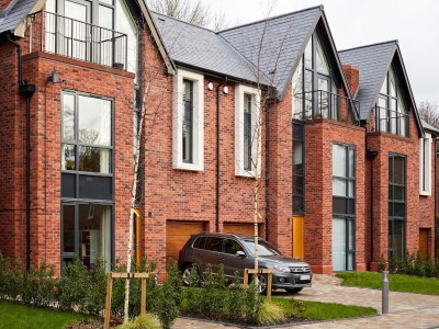 an image if townhouses in Chorlton