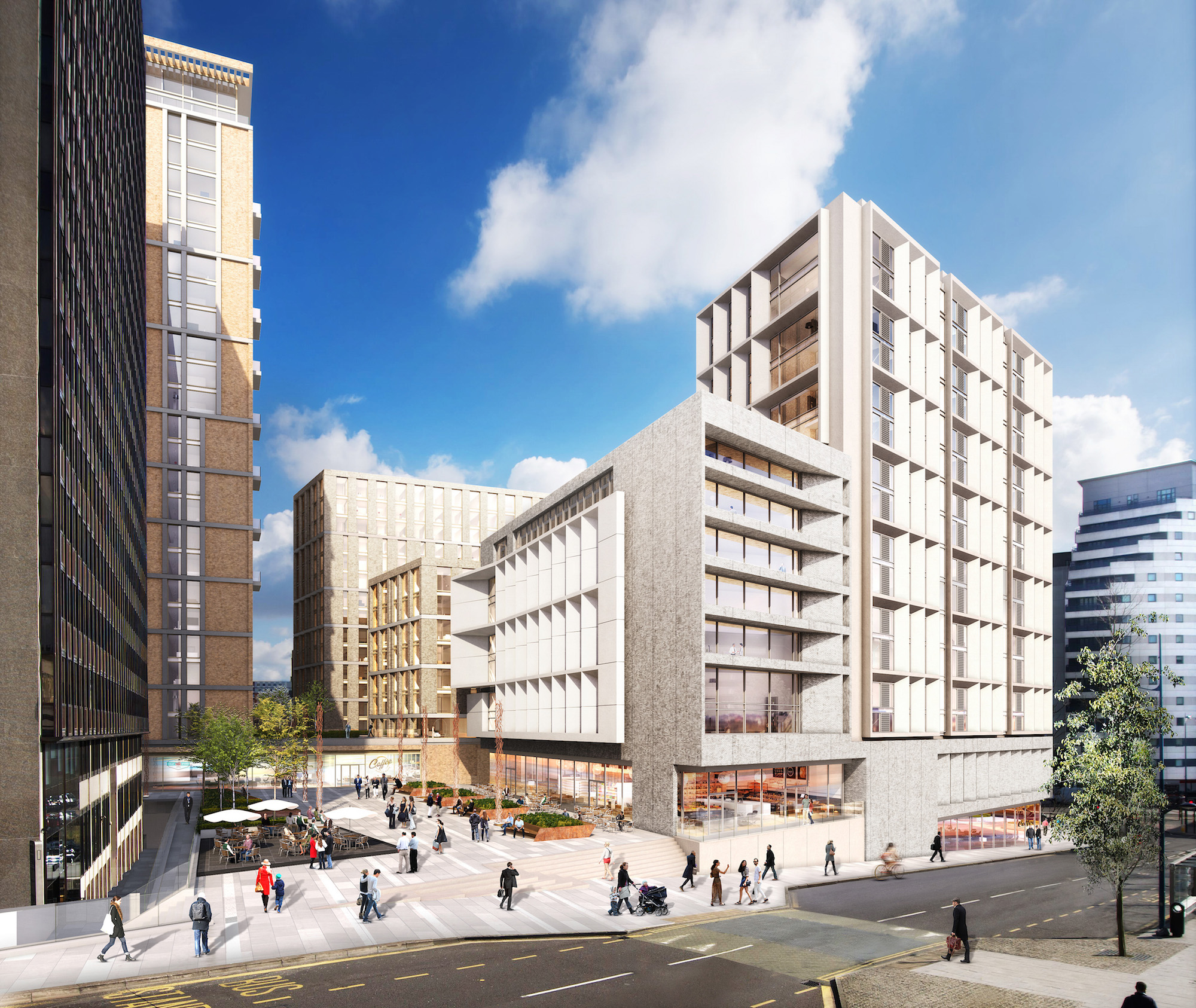 Nikal Achieves Planning For Phase 2 At Exchange Square