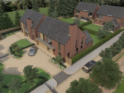 the granary yard, goostrey, cheshire, new homes, luxury, country living, aspirational, family,
